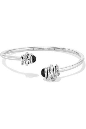 de GRISOGONO | Bracelet en or blanc 18 carats, onyx et diamants Toi & Moi | NET-A-PORTER.COM