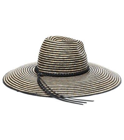 Saint Laurent - Grand straw hat | Mytheresa