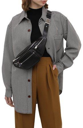 Женская черная поясная сумка attica ALEXANDER WANG — купить за 64500 руб. в интернет-магазине ЦУМ, арт. 2030P0073L