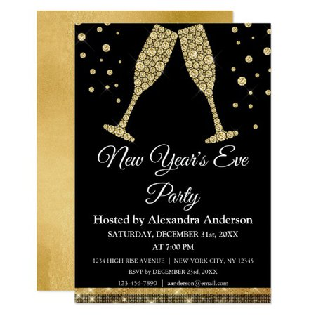 New Year's Eve Party Invitaiton