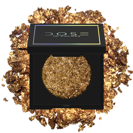 HEART OF GOLD- Antique Gold with Gold Reflects Eyeshadow - Dose of Colors