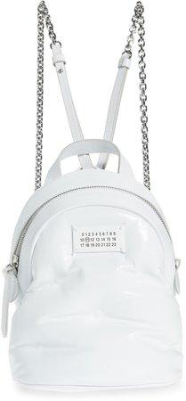 Glam Slam Mini Leather Backpack