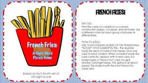 french fry word - Google Search