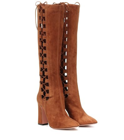 Medina 105 suede knee-high boots