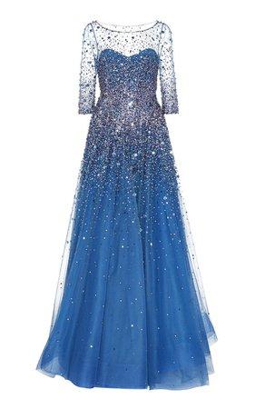 Charisse Embellished Tulle Gown by Jenny Packham | Moda Operandi