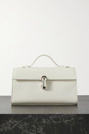 Savette - Symmetry Pochette Leather Tote - Ivory