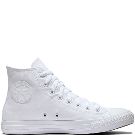 converse - white - high top
