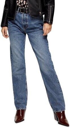 Straight Leg Dad Jeans