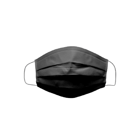 Disposable Face Mask – Black – POPme Mask