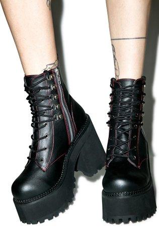 Demonia Deathstalker Boots | Dolls Kill