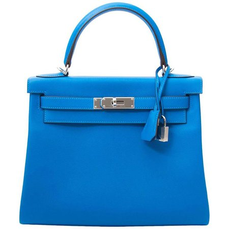 Brand New Hermes Kelly 28 Evercalf Hydra For Sale at 1stdibs
