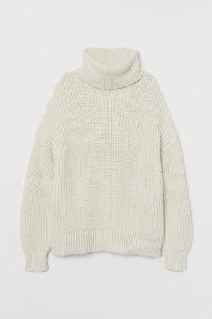 Свитер - Белый - Женщины | H&M RU