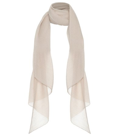 Cashmere And Silk Scarf - Agnona | Mytheresa