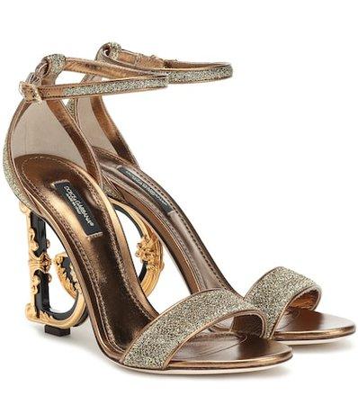 Keria embellished leather sandals
