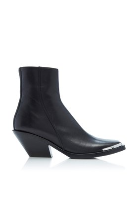 Braxton Leather Ankle Boots by Acne Studios   Moda Operandi