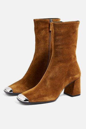 MAXWELL Suede Ankle Boots - Boots - Shoes - Topshop
