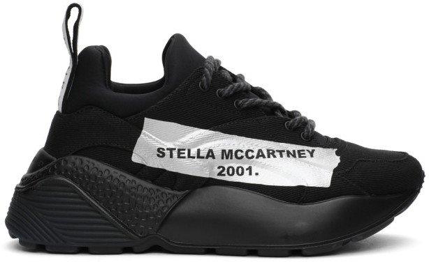 Black Canvas Eclypse Sneakers