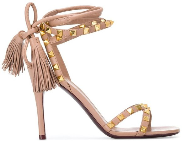 Rockstud Flair 110mm sandals