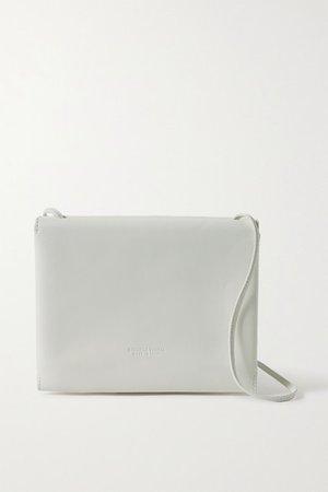 Trio Leather Shoulder Bag - White