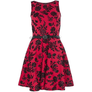 Rose Dress PNG Hot Pink