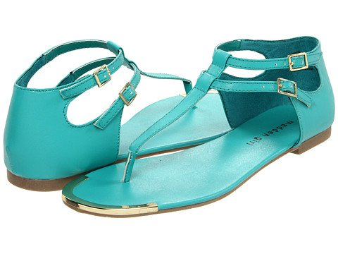 Blue Beach Sandals