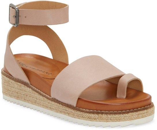 Itolva Ankle Strap Espadrille Sandal