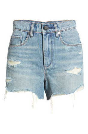 BLANKNYC Ripped Denim Shorts (Top Notch) | Nordstrom