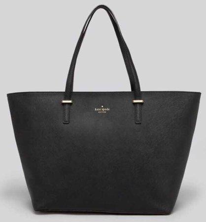 black kate spade purse tote