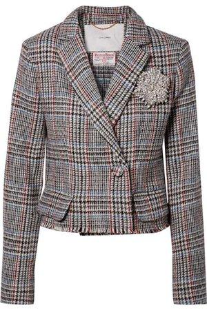 Grey Tweed Blazer