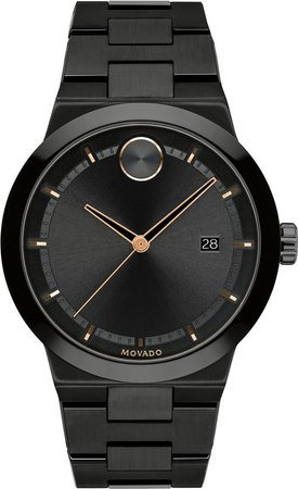 Bold Bracelet Watch, 42mm