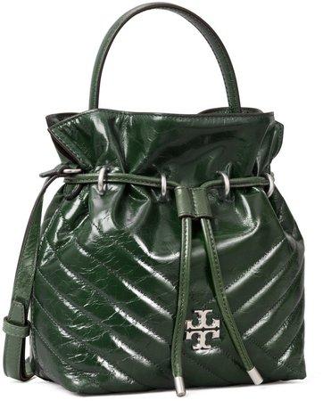 Kira Chevron Textured Mini Bucket Bag