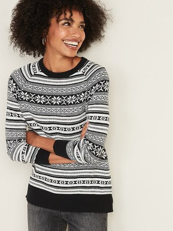 Fair Isle Sweater for Women | Old Navy