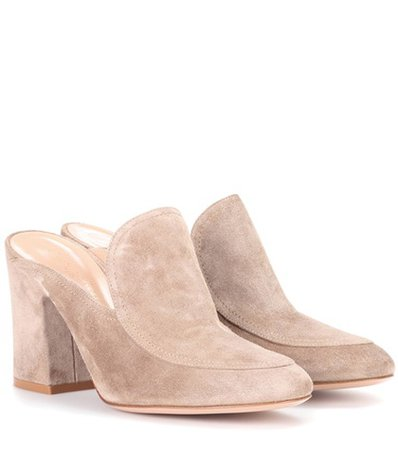 Exclusive to mytheresa.com – suede mules