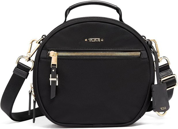 Quinn Circle Nylon Crossbody Bag