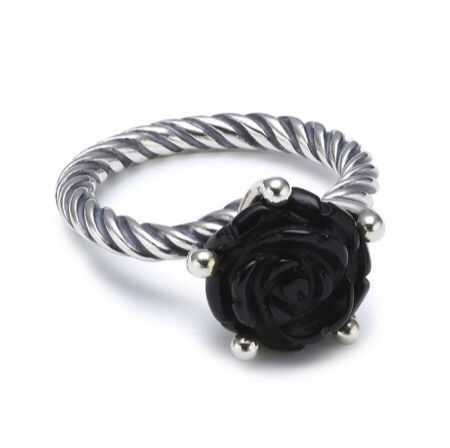 black rose ring - Google Search