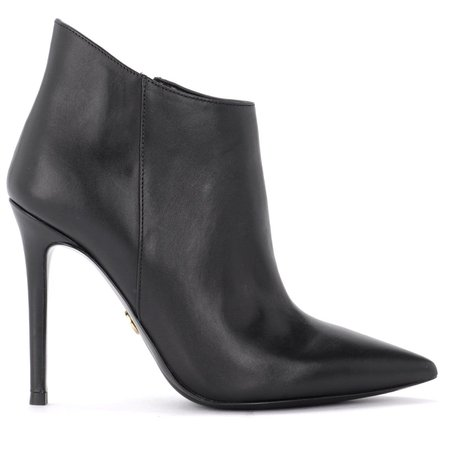 Michael Kors Antonia Ankle Boots In Black Leather