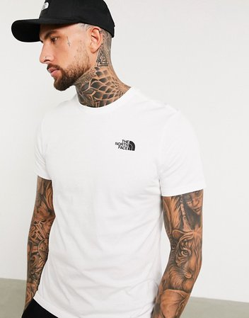 The North Face Peaks t-shirt in white Exclusive at ASOS | ASOS