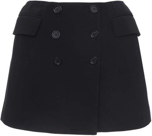 Dolce & Gabbana Wool Mini Skirt Size: 38