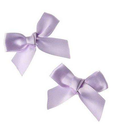 purple bows