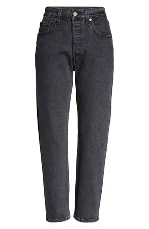 Levi's® 501® High Waist Crop Straight Leg Jeans (Cabo Fade) | Nordstrom