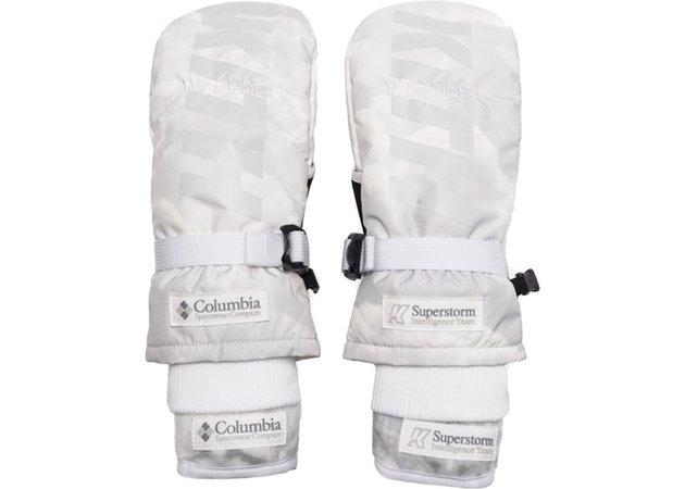 Kith x Columbia Whirlibird IC Ski Glove Cloud