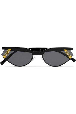 Fendi | Gentle Fendi cat-eye acetate sunglasses | NET-A-PORTER.COM