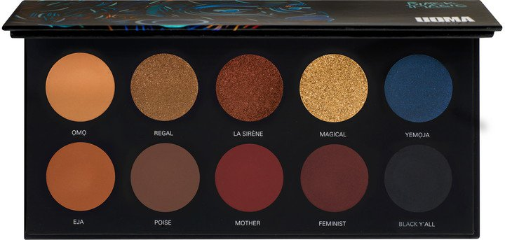 Uoma Beauty Black Magic Poise Color Palette