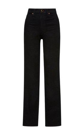 Vanessa High-Rise Straight-Leg Jeans by Khaite | Moda Operandi