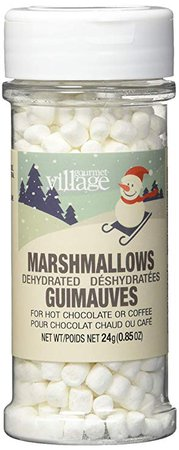 Gourmet du Village Hot Chocolate Toppings Dehydrated Marshmallows, 24 Grams: Amazon.ca: Grocery