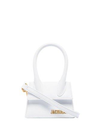 White Jacquemus Le Chiquito mini bag 201BA02201 - Farfetch