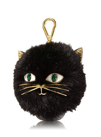 Amazon.com : Bath and Body Works Furry Black Cat Pocketbac Hand Gel Sanitizer Holder : Beauty