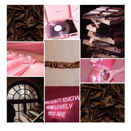 pink and chocolate brown contest
