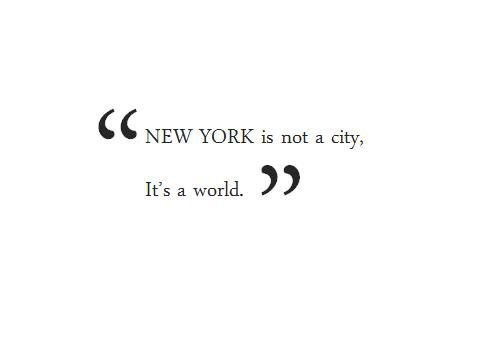 New York City Quote