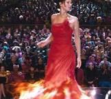katniss red dress - Google Search